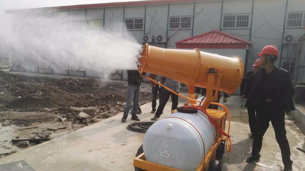 工地专用雾炮机的性能特点